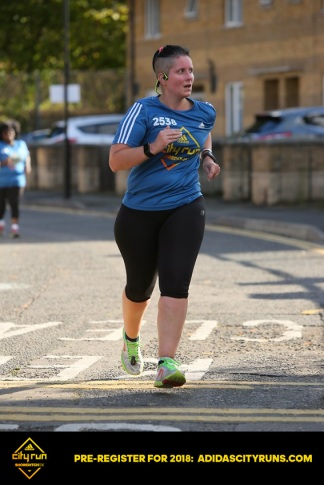 Shoreditch 10k - two weeks after foot surgery