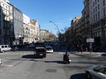 Gran Via, about 5km in