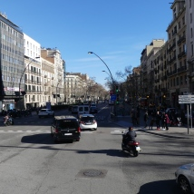 Gran Via, about 5km in