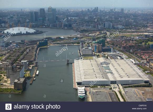 aerial-view-of-the-excel-exhibition-centre-royal-victoria-dock-the-CWP316